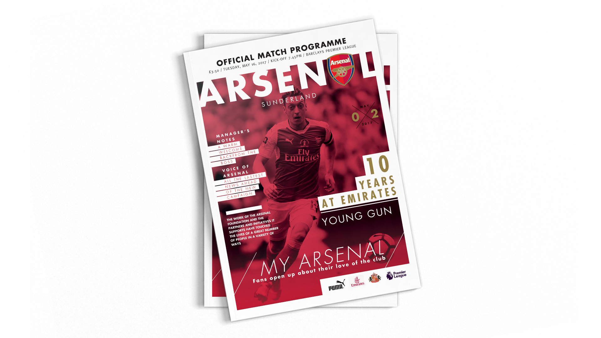 FC Arsenal Programme